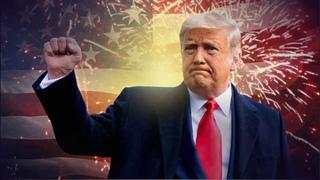 Amérique ! Crie la victoire de la liberté regagnée, grâce à la Vérité !