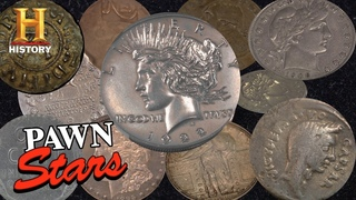 Pawn Stars: TOP COINS OF ALL TIME (20 Rare & Expensive Coins) | History
