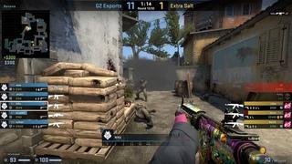 CS:GO POV Demo G2 NiKo (24/7) vs Extra Salt (de_inferno)