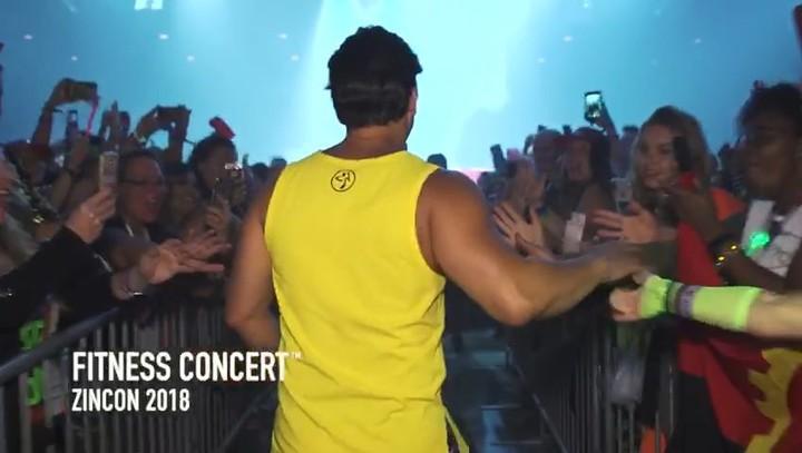 Zumba Fitness Concert 2018 on ZINCON