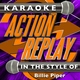 Karaoke Action Replay - The Tide Is High (In the Style of Billie Piper) [Karaoke Version]
