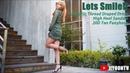 Let's Smile~! | Fabulous Pantyhose Legs | Crossdresser Ladyboy in Public | Stunning Transwomen