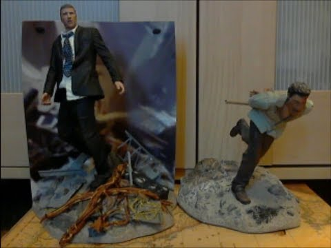 Figure Review LOST Jack Shephard and Jin Kwon McFarlane