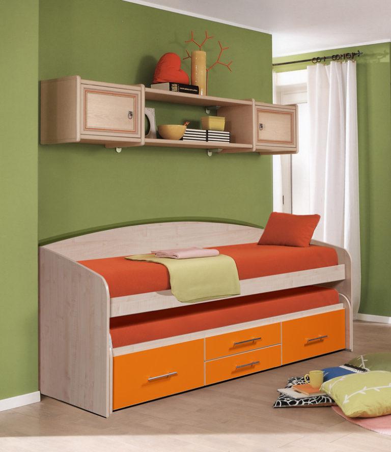 Плюсы и минусы двухъярусных выдвижных кроватей, популярные дизайны, изображение №6