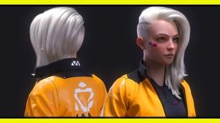 JANE | Character modeling with Zbrush, Maya, Marvelous...