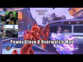 Контроллер-перчатка power glove и сомбра