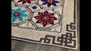 FIESTA CAL part 6 - Mosaic Crochet Tutorial