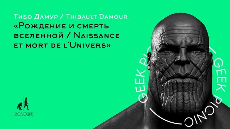 Тибо Дамур. Рождение и смерть Вселенной / Thibault Damour. Naissance et mort de l'Univers