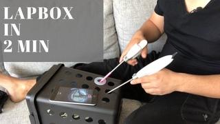 Как сделать лучший тренажёр для лапароскопии за 2 минуты