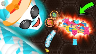 🆆🅾🆁🅼🅰🆃🅴.🅸🅾 New ✅ Hacker Pro Worm 💥  Funny Slither Snake Online Games💥Worm 💪