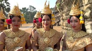 Путешествие в Камбоджу - Загадка Ангкор Ват | Апсара Шоу в храме