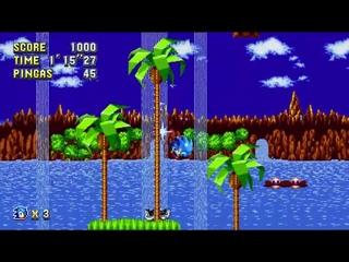 Sonic Mania Mod: Pingas Rings (Кольца из голов Эггмана