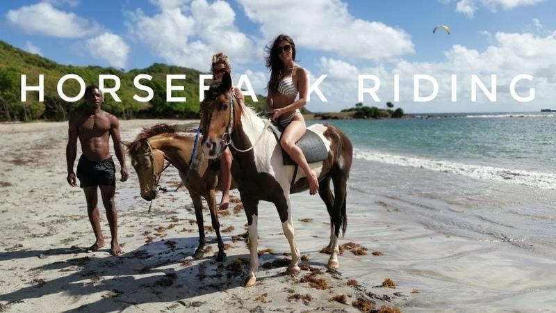 St Lucia Horseback Riding Caribbean excursions
