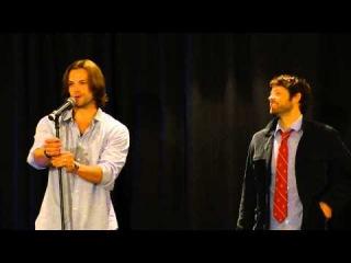 Jared Padalecki and Misha Collins NJ Con Breakfast (11/12)