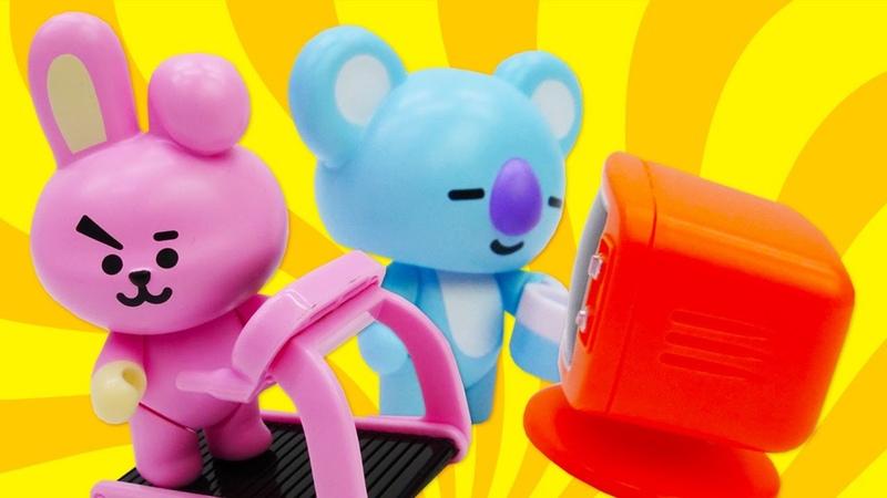 BT21 Universe toys BT21 Koya and Cooky BT21 cartoon new episode