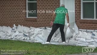 7-14-2019 Baton Rouge to Denham Springs, La Flash flooding, streets flooded, sandbagging