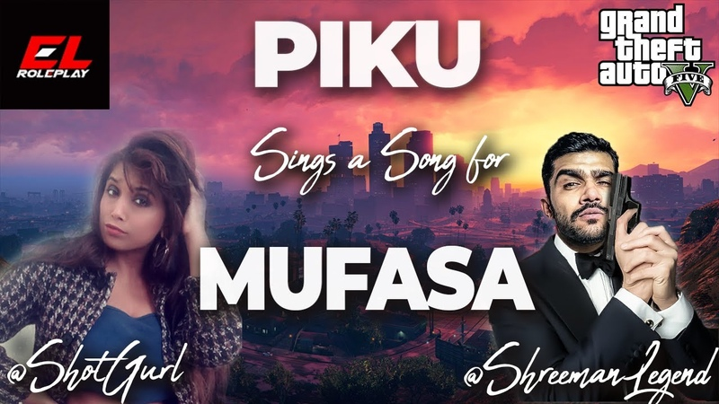 Piku sings a song for Mufasa @shreeman legend live ExoLife RolePlay