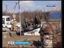 22 марта около 13 00 Фуры с гуманитарным грузом попали в аварию на Ставрополье