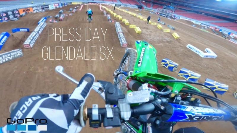 2020 Glendale Supercross PRESS DAY GoPro