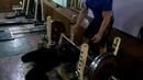 100 килограмм на 16 повторений. Тренировка на мышечную выносливость. Собственный вес 76 кг.