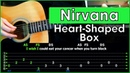 Nirvana - Heart-Shaped Box | Acoustic Cover | Разбор песни на гитаре | Табы, аккорды