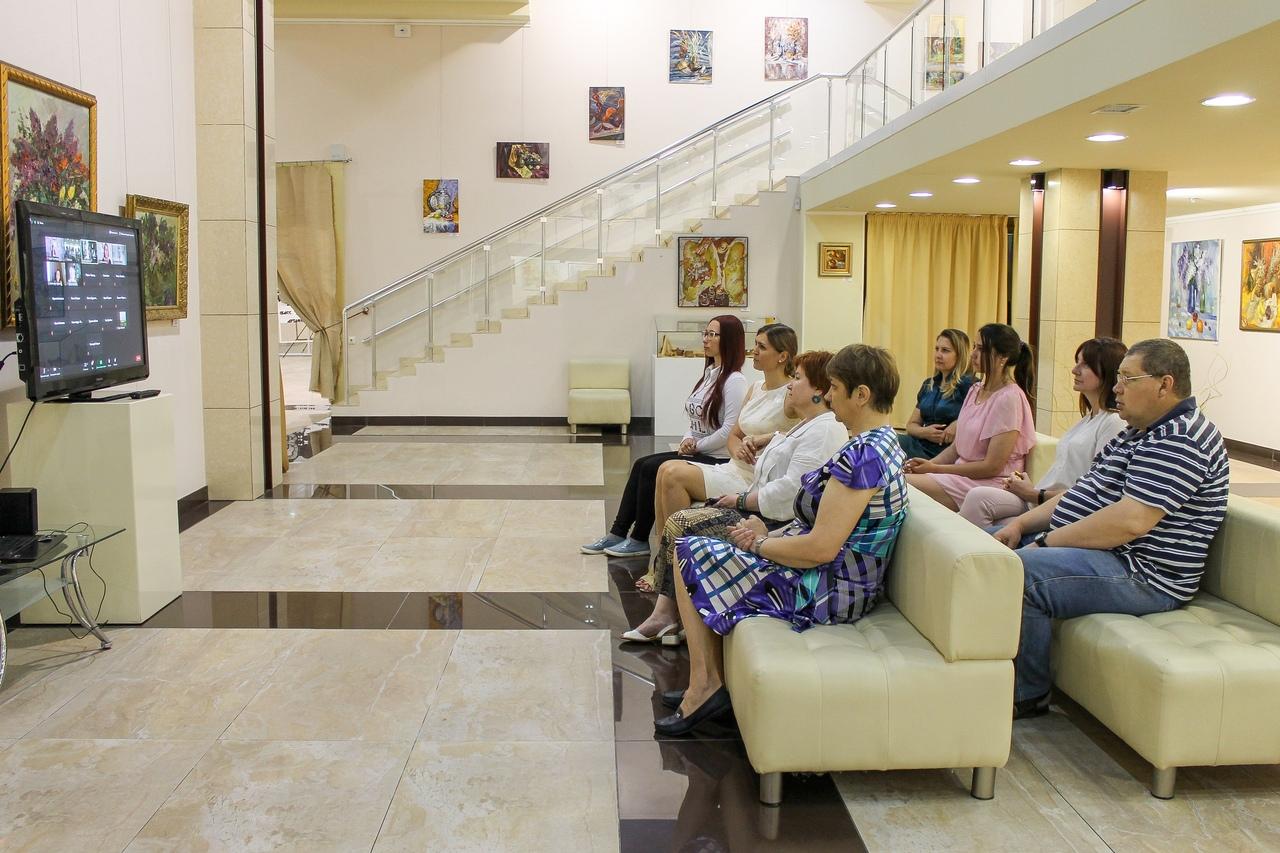 Сотрудники ХМ «Арт-Донбасс» приняли участие в конференции «Тургеневские чтения» online в городе Орле
