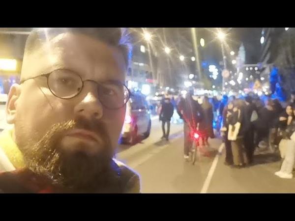 Elokapina katkaisi sillan Helsingissä
