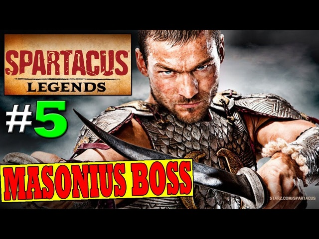 SPARTACUS LEGENDS Walkthrough DEFEAT MASONIUS BOSS District Donus Nobilium PS3 XBOX360 HD