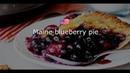 АМЕРИКАНСКАЯ КУХНЯ Maine blueberry pie/ Мэнский пирог с голубикой