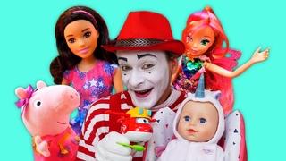 Compilation de vidéos drôles pour enfants. Les histoires du bébé born. Les poupées et jouets
