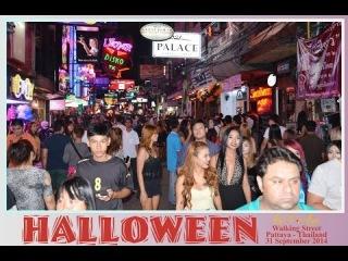 Halloween 2014 Walking Street Pattaya