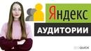 Яндекс Аудитории в Яндекс Директе. Настройка сегментов для таргетинга