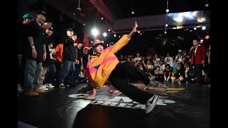 JINJO RIVERS vs GAMBLERZ FUSION MC Red Bull BC One Camp South Korea 2019 Exhibition Battle