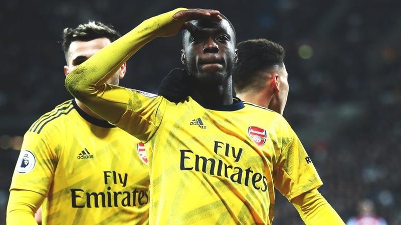 Nicolas Pepe's spectacular strike | Every angle | West Ham 1-3 Arsenal