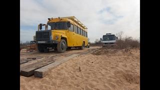 КАВЗ АВТОДОМ из Темрюка. School bus conversion in Russia