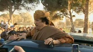 Шокирующие подробности убийства ливийского президента Муамара Каддафи. Новости. Первый канал
