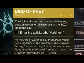 "New Exotic ""Birds of Prey"" Quest - How To Start Mission Location [Destiny 2 Beyond Light]"