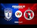 Tuzos de Pachuca vs Club Tijuana Liga MX Jornada 10 Apertura 2019