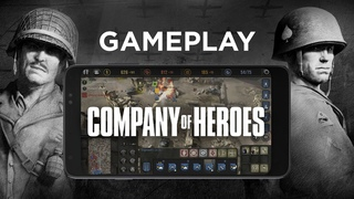 Company of Heroes for mobile – Gameplay footage