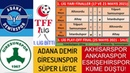 TFF 1. Ligde Sezon Bitti Süper Lige Çıkanlar-2. Lige Düşenler ve Play-off Oynayacaklar Belli Oldu