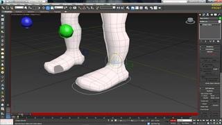 3D Max KF - №15 (работа с ключами для скининга)