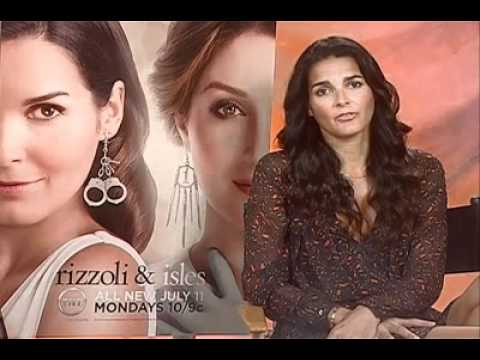 Rizzoli Isles Angie Harmon Interview The Inside Reel