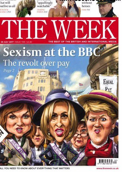 Book cover The Week UK Issue 1135 29 July 2017
