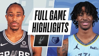 SPURS at GRIZZLIES | FULL GAME HIGHLIGHTS | December 23, 2020