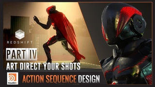 SideFX Houdini : Action Sequence Design - Part4 - Lighting / Art Direct your Shots