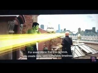 Avenger: Endgame Deleted Scene   Smart Hulk Meet Ancient One In New York Battel