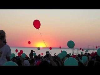 Последний закат солнца на Казантипе 2010 Z-18 ()