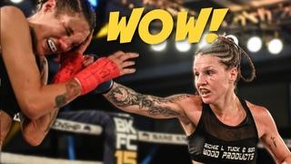 Brutal Women's Fight! Britain Hart vs. Randine Eckholm