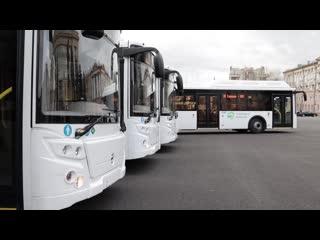 32 новых автобуса выйдут на городские маршруты в Липецке