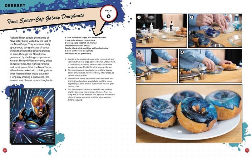 Паста с языком Венома и гоблинские бомбочки — кулинарная книга вселенной Marvel, изображение №4